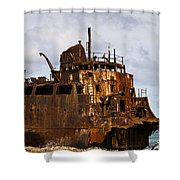 Ship Ashore Shower Curtain