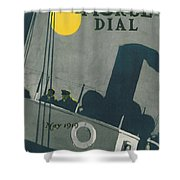 Ship At Night Shower Curtain by Edward Hopper