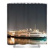 Ship Shower Curtain