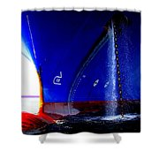Ship - Gulf Of Mexico Shower Curtain
