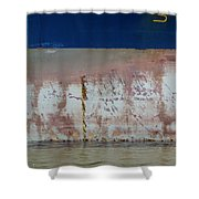 Ship Rust 1 Shower Curtain