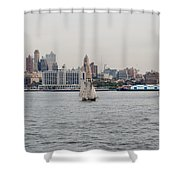 Ships And Boats Shower Curtain