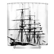 Ships Hms 'agincourt Shower Curtain