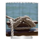 Ships Rigging I Shower Curtain