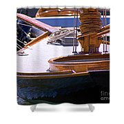 Shipshape Shower Curtain