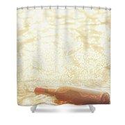 Shipwreck Love Affair Shower Curtain