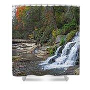Shoal Creek Area Waterfalls Shower Curtain