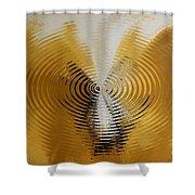 Shock Wave Shower Curtain