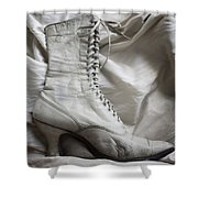 Shoe Display Shower Curtain
