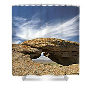 Shoofly Arch Basin And Range Shower Curtain