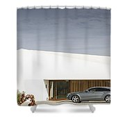 Shooting Brake Shower Curtain