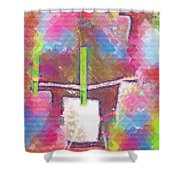 Shop Art Pop Art Shower Curtain