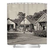 Shopping In Smithville Shower Curtain