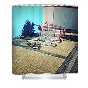 Shopping Trolleys  Shower Curtain