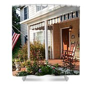 Shore Good To Be Home Shower Curtain
