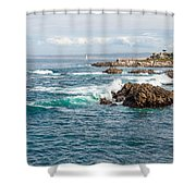 Home My Haven  Shower Curtain