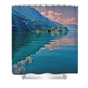 Shore Reflection Shower Curtain