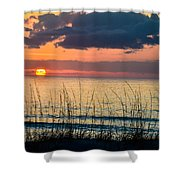 Shore To Eternity  Shower Curtain