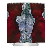 Shoreline Shower Curtain by Graham Dean