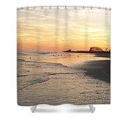 Shoreline Nj Shower Curtain