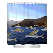 Shoreline Squadron Shower Curtain