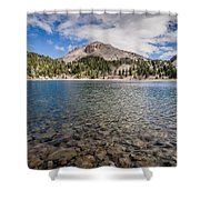 Shores Of Helen Lake Shower Curtain