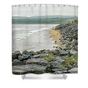 Shores Of Ireland Shower Curtain