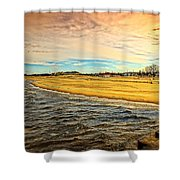 Shores Of Lake Michigan Shower Curtain