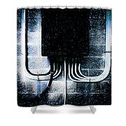 Short Circuit Shower Curtain