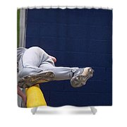 Short Cut Over The Fence Shower Curtain