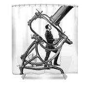 Short-focus Telescope, 1881 Shower Curtain