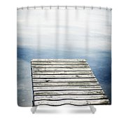 Short Pier Shower Curtain