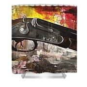 Shot Gun  Shower Curtain