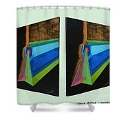 Shots Shifted - Hermite 6 Shower Curtain