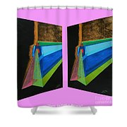 Shots Shifted - Hermite 7 Shower Curtain