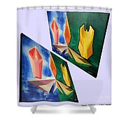 Shots Shifted - Infini-justice 1 Shower Curtain