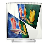 Shots Shifted - Infini-justice 2 Shower Curtain