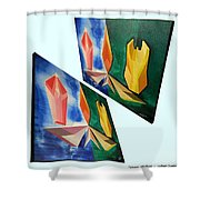 Shots Shifted - Infini-justice 6 Shower Curtain