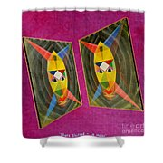 Shots Shifted - Le Mage 5 Shower Curtain