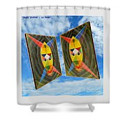 Shots Shifted - Le Mage 6 Shower Curtain