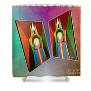Shots Shifted - Le Pat 6 Shower Curtain