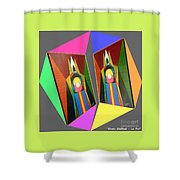 Shots Shifted - Le Pat 7 Shower Curtain