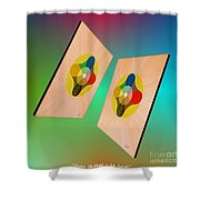 Shots Shifted - Le Soleil 7 Shower Curtain