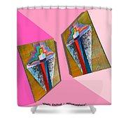 Shots Shifted - Metamorphose 6 Shower Curtain