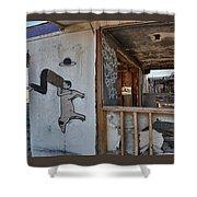 Should We Remodel Graffiti  Shower Curtain