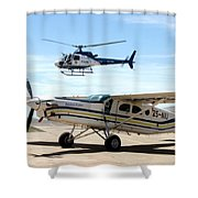 Show Of Force Shower Curtain