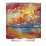 Show Your Color Shower Curtain