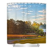 Showcase Barn And Farm Shower Curtain