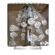 Shower Head Shower Curtain by Mats Silvan