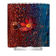 Showers To Flowers Shower Curtain